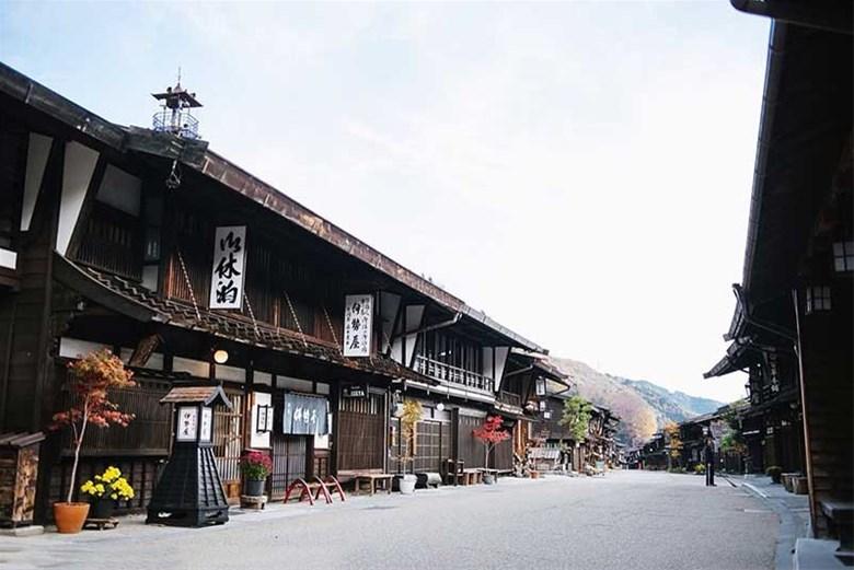 Thị trấn cổ Najai – Juku